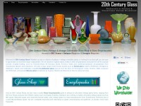 20th Century Glass | Antique & Collectable Glass Shop