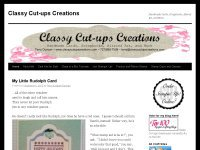 Classy Cut-ups Creations Paper Crafts and More