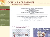 Ooh la La creations - Paper Craft Cd's