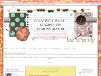Creativity is Key - Stampin' Up! Demonstrator