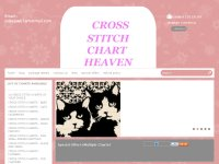 CROSS STITCH CHART HEAVEN IS THE MAIN PLACE