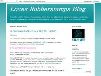 Loves Rubberstamps Official Blog