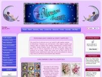 Moonstone Treasures Card Making Craft Supplies.