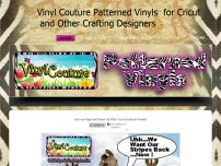 Vinyl for Cricut Cutters and Other Crafting Designers